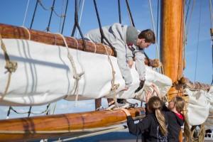 ungsommar beslår segel